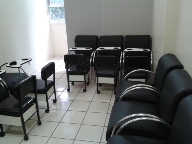 Poltrona Cadeira Esmalteria salodentistaclinicarecepo  R 19900 em Mercado Livre