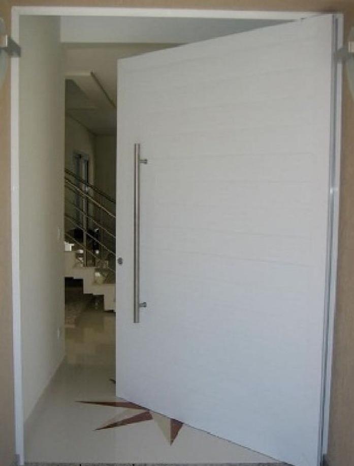 Porta Pivotante Em Alumnio Liso 1200mmx2200