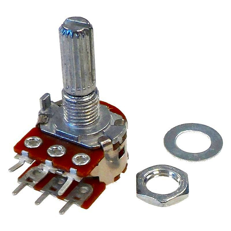 Wiring Two Potentiometers In Series