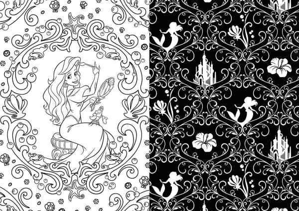 Princesas Disney Libro Colorear Mandalas Relajaci Nuevo - 650.00 En Mercado Libre