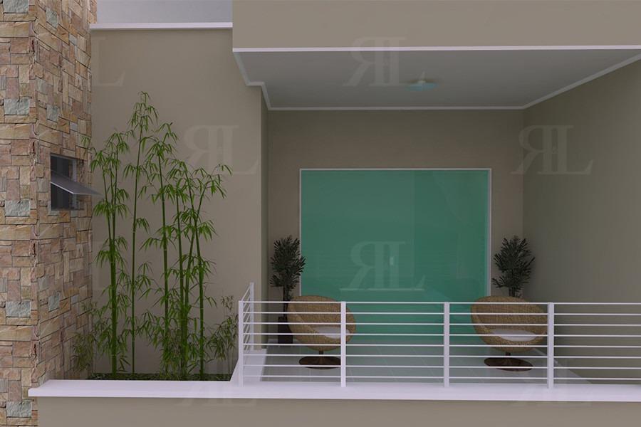 Projeto Sobrado Estreito 2q  Planta Completa  R 78100