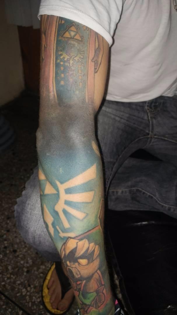 Protector De Tatuajes De Brazos Bs 500000 En Mercado Libre