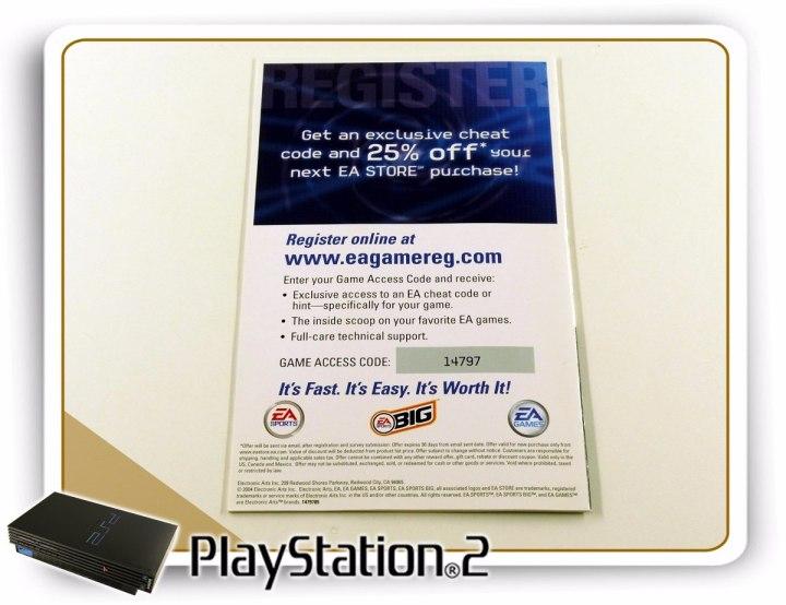 Ps2 Manual Tiger Woods Pga Tour 2005 Original Playstation