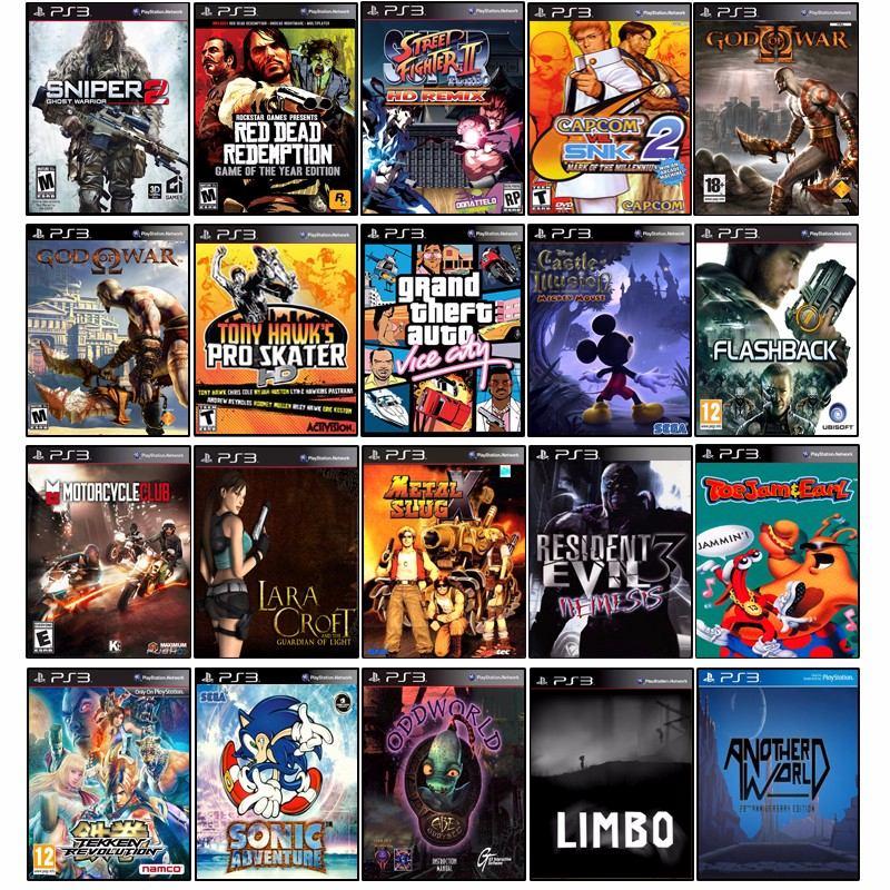 Ps3 45 Jogos Originais Playstation 3 Super Slim 12x