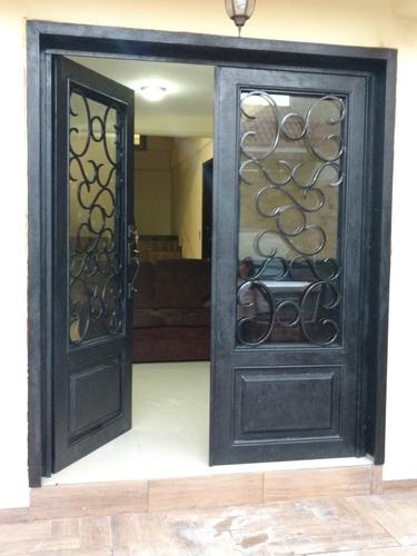 Puerta Residencial De Herrera Modelo Clsico Metro Cuad