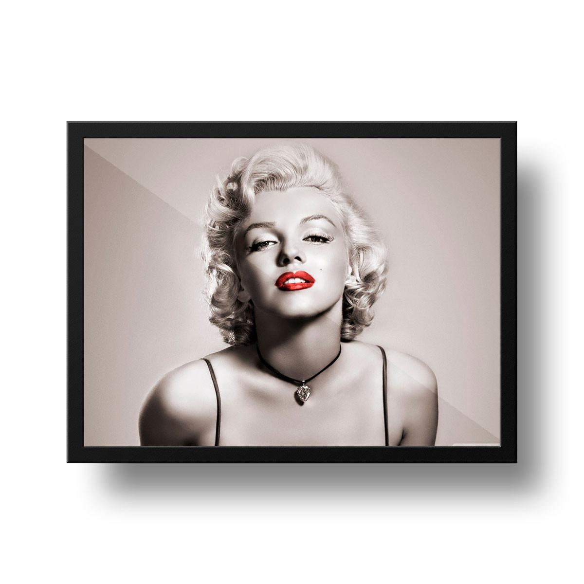 Quadro Marilyn Monroe Decorao Salo De Beleza  Brinde  R 4999 em Mercado Livre