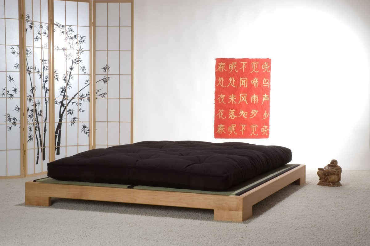 Recamara Matrimonial Japonesa Lounge Pino Muebles Lluminat