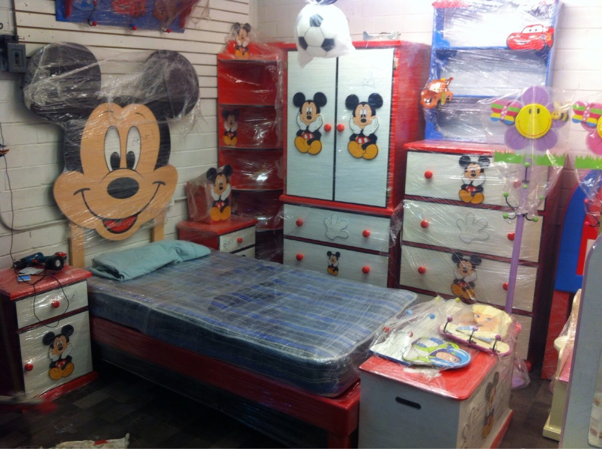 Muebles Disney Recamara Mickey Mouse Toy Story Disney Lagunilla