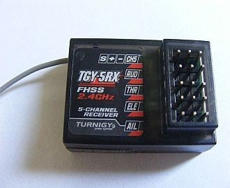 Receptor Tgy-5rx Turnigy 5x Mini Fhss 2.4ghz 05 Canais - R$ 57.99 em Mercado Livre