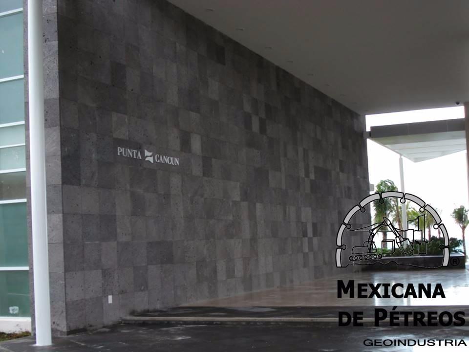 Recinto Volcnico Negro Poro Cerrado Para Pisos Y Fachadas