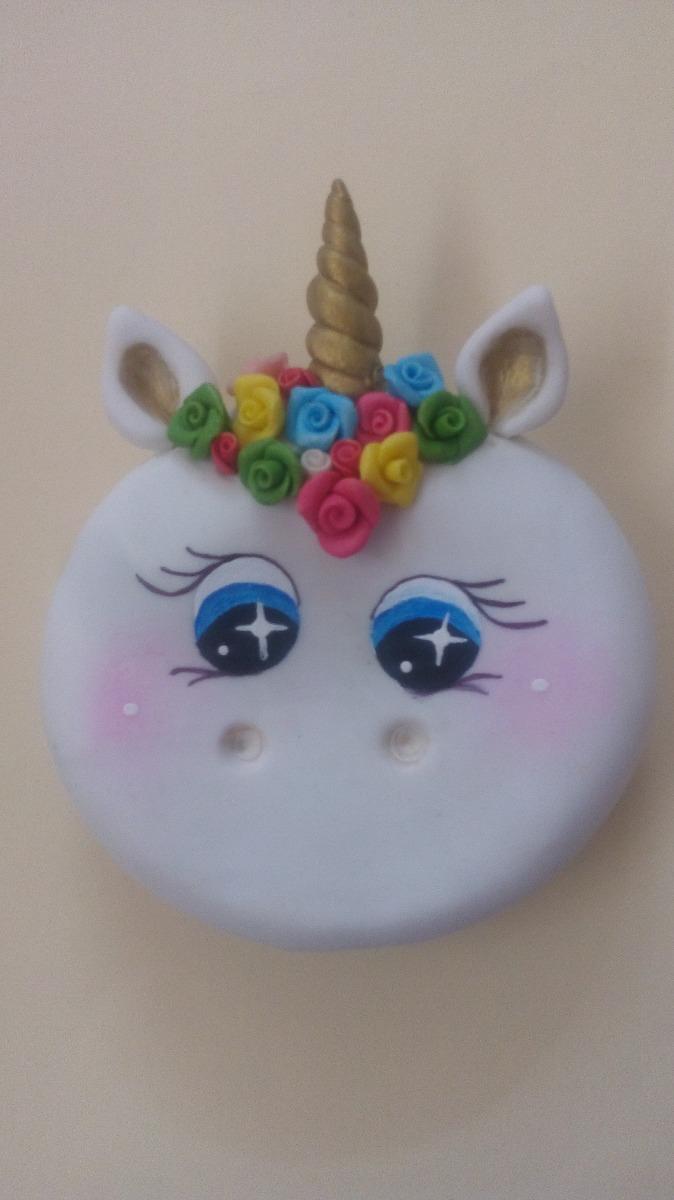 Recuerdito Espejo Unicornio Porcelana Fra   8000 en
