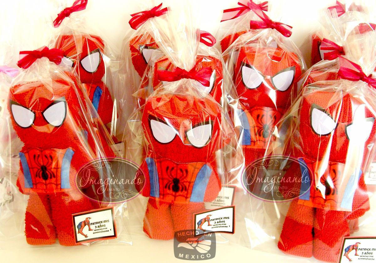 Recuerdos Toalla Facial Avengers Spiderman Thor   2900 en Mercado Libre