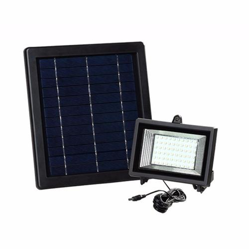 Reflector Solar Con Panel Solar Exteriores Y Jardines 60