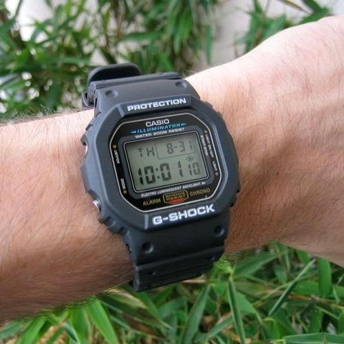 Relógio Casio Masculino G-shock Dw-5600e 1vdf Digital Oferta - R$ 419.80 em Mercado Livre