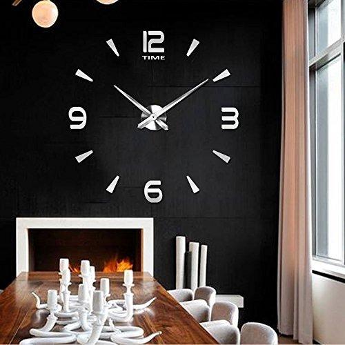 Reloj De Pared Moderno Vangold Grande 3d Diy Para Sala