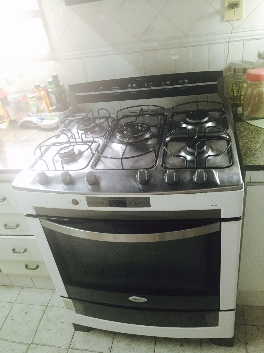 Remato Cocina De 5 Hornallas Usada Marca Whirlpool