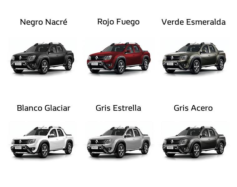Renault Duster Oroch Privilege 2.0 2018 0km Rojo Bordo