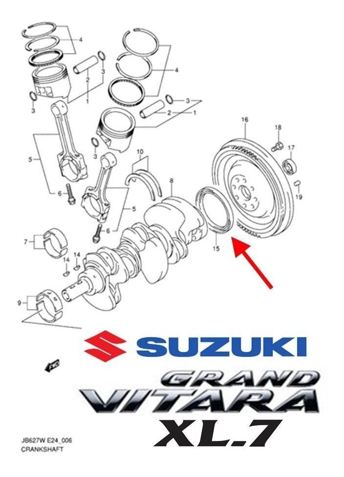 Reten Cigueñal Trasero Suzuki Grand Vitara Xl7 2.7 Año 99