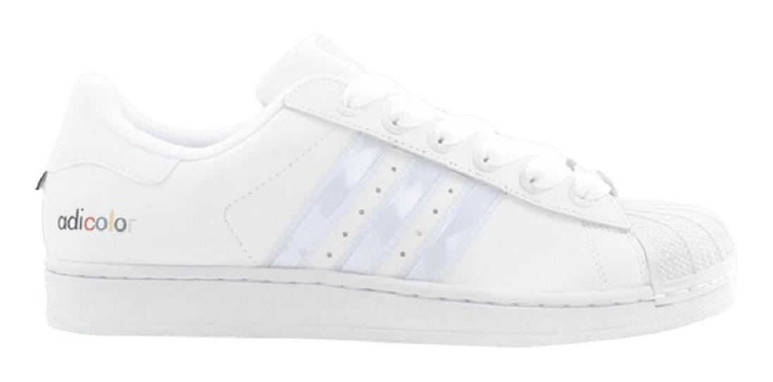 Retro Tenis adidas Superstar 2 Adicolor W5 Originals White - $ 1.799.00 en Mercado Libre