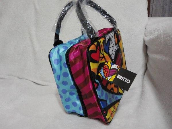 Romero Britto Bolsa Necessaire Cosmetic Bag Nova - 149