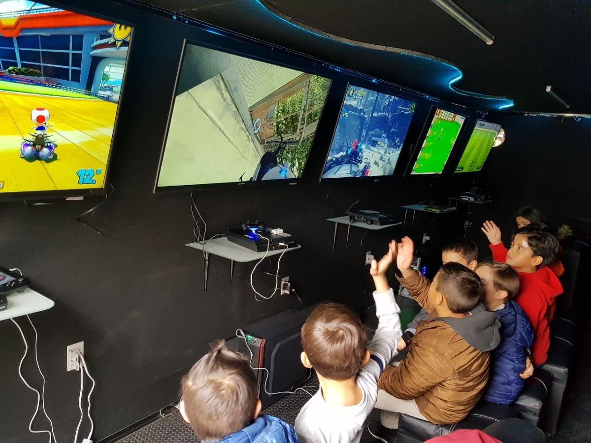 Sala De Videojuegos Fiestas Infantiles Remolque 30 Nios  en Mercado Libre
