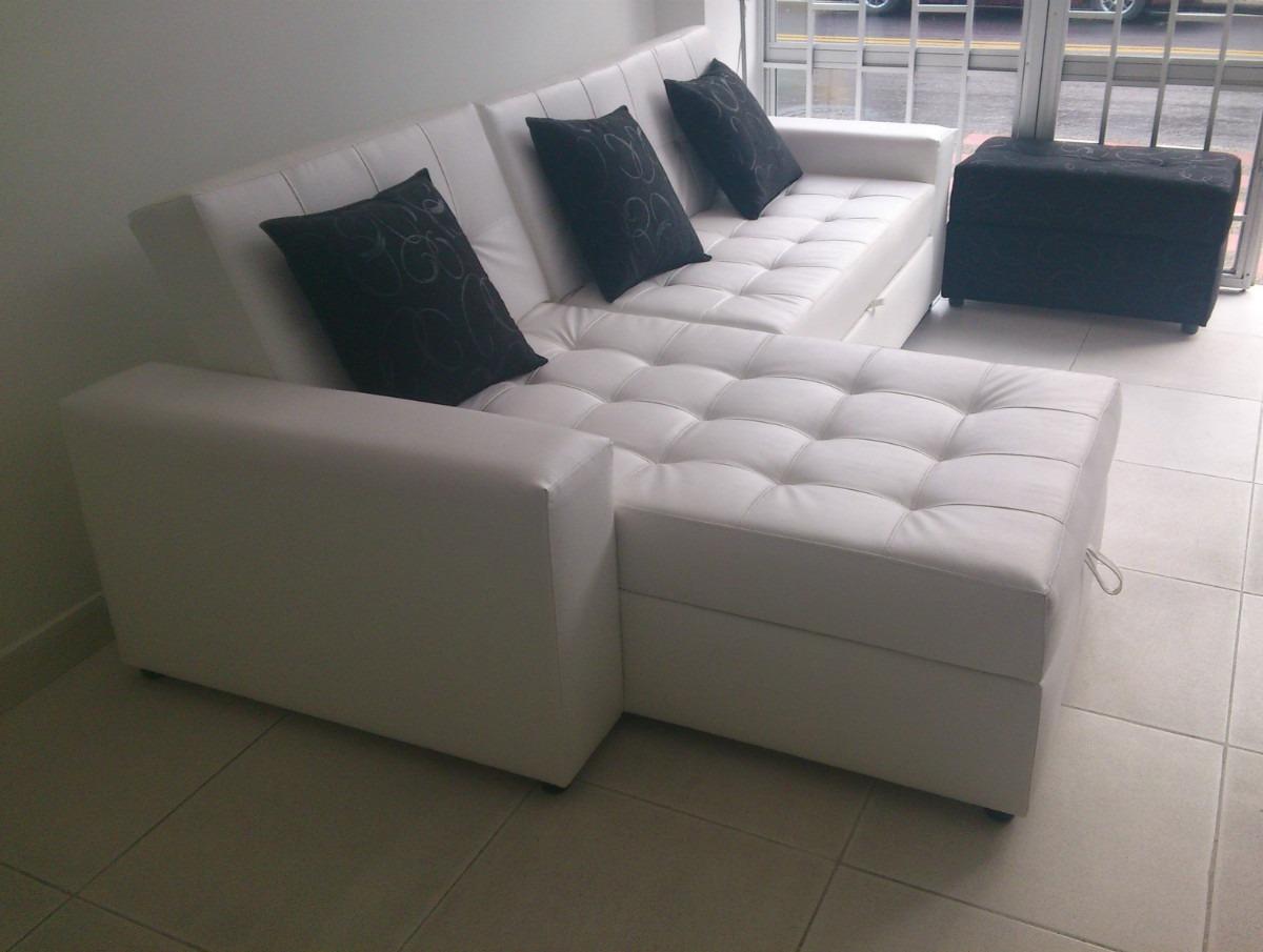 sofa cama bogota colombia poltrona bolzano sala moderna con baul puff mesa envio