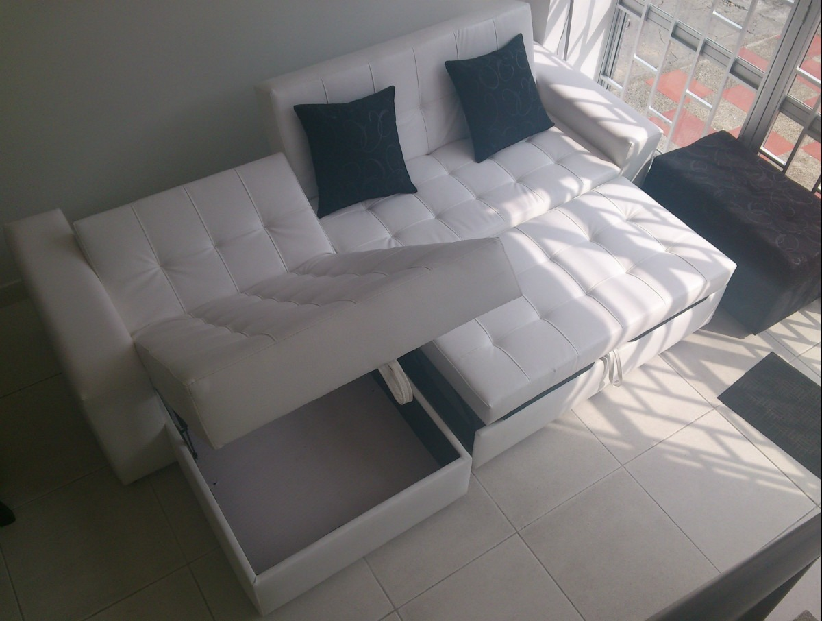 sofa cama bogota venta catnapper sofas reviews sala moderna con baul puff mesa envio