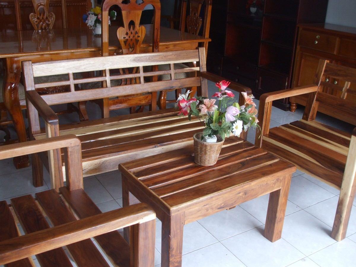 Sala Rstica De 4 Pzas   565000 en Mercado Libre