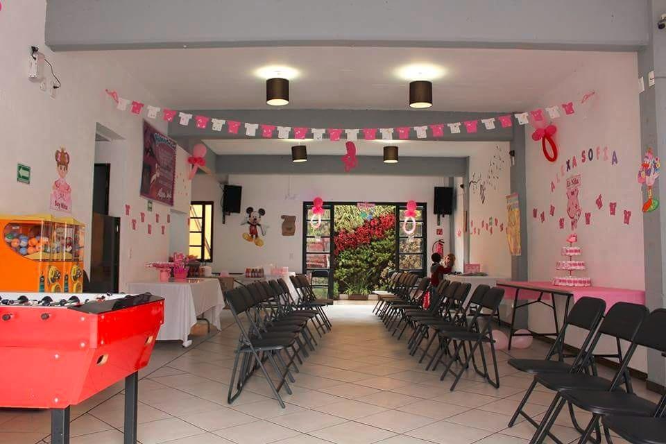 Pequeo Salon De Fiestas Infantiles Centro Df Cap 60 Pers