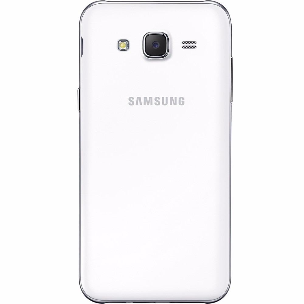 Samsung J5 Duos Novo Tela 5 Cam 13mp Quad Core (branco