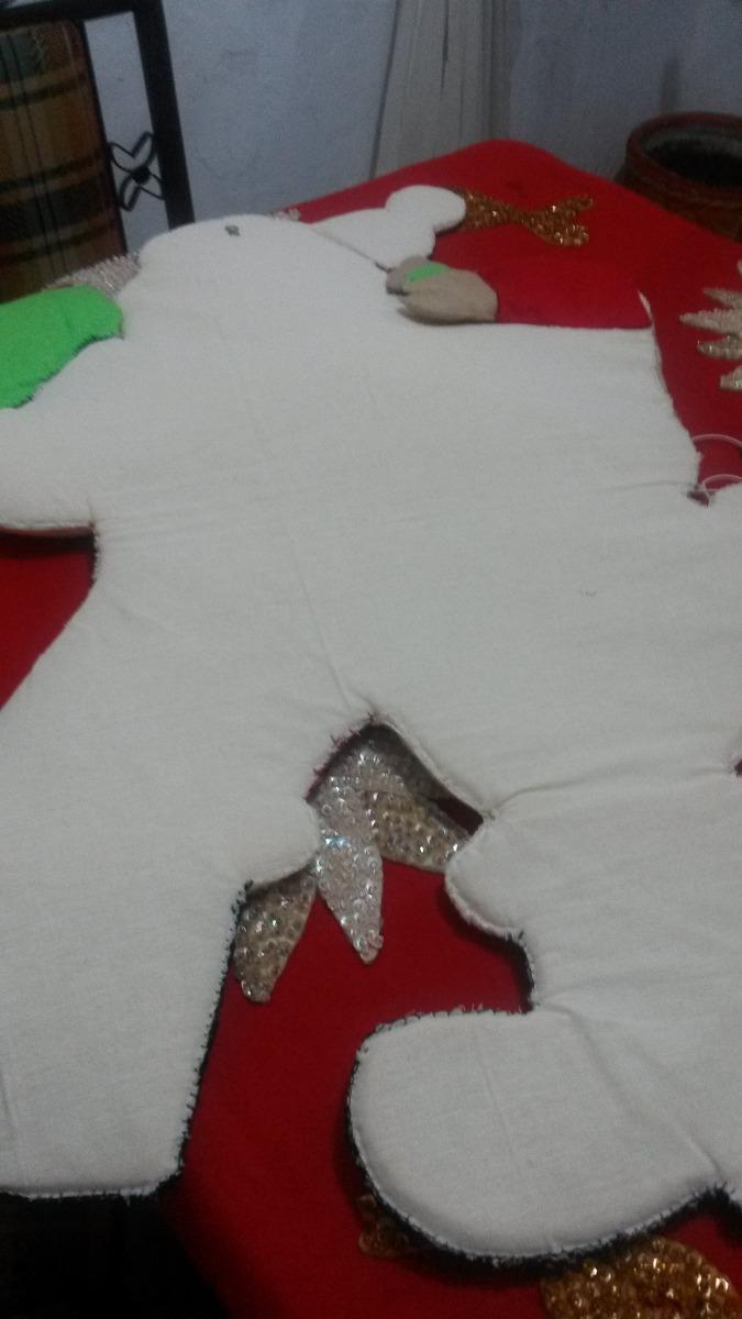 Santa Claus De Fieltro Gigante   140000 en Mercado Libre