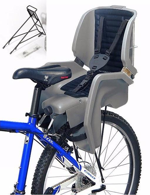 Segura Silla Bicicleta Nios Beto Ccs003 Con Parrilla