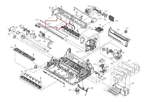 Sensor De Papel Epson M100,m105,m200,m205,xp211,xp241