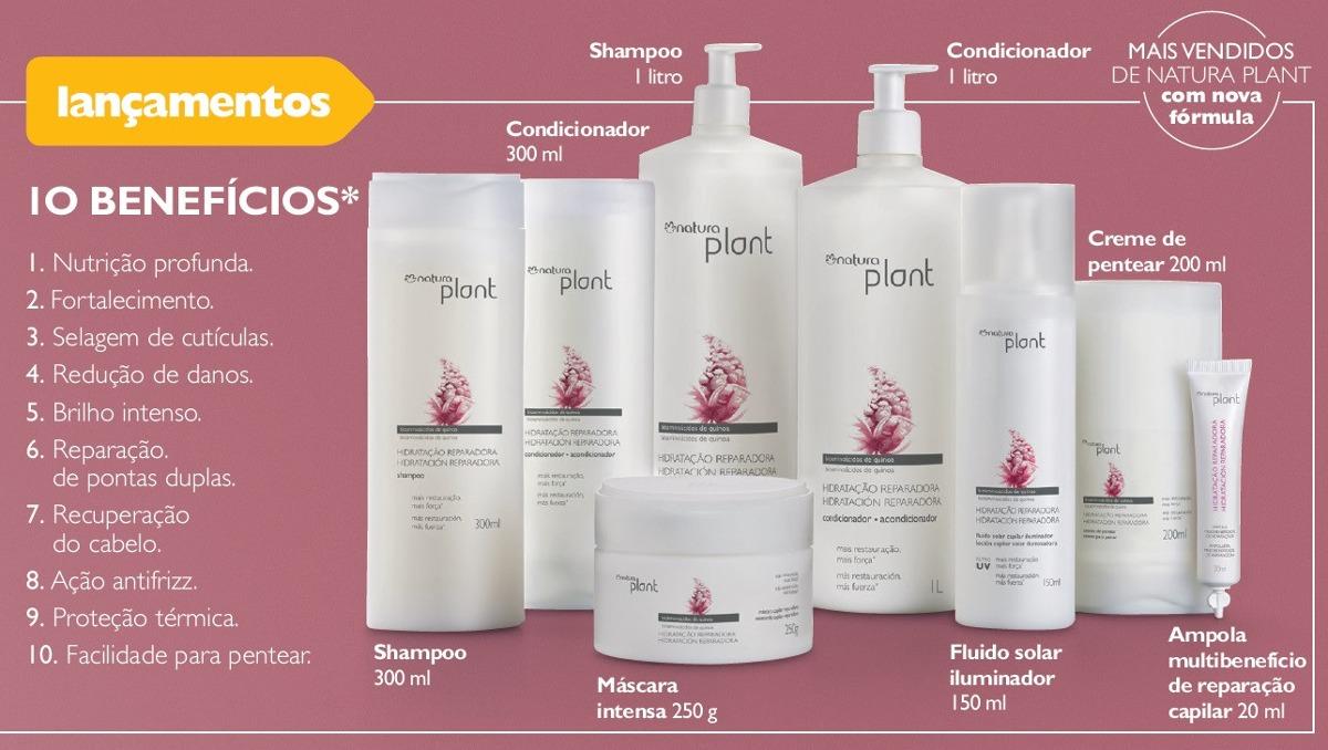 Kit Shampoo E Condicionador Natura Plant Hidratao 1