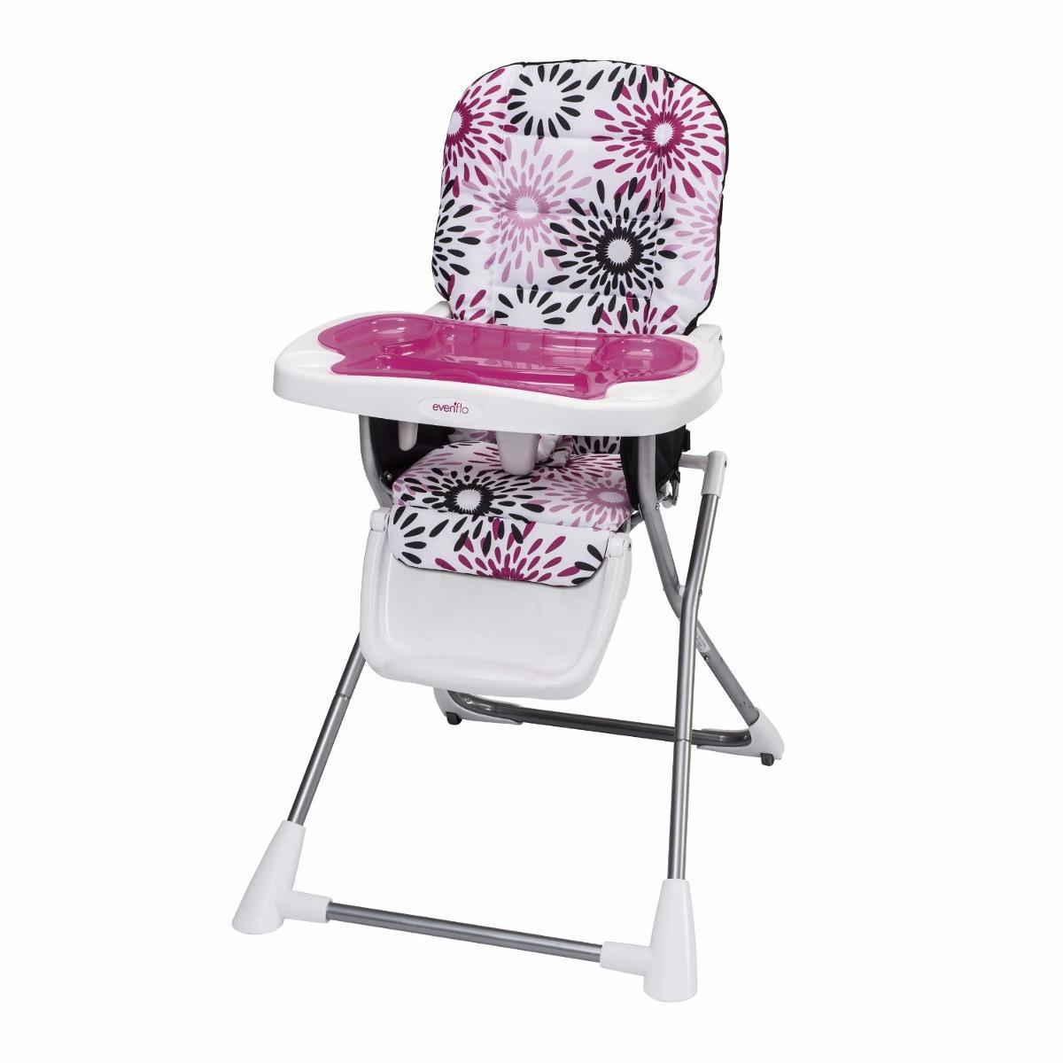 compact high chair directors silla alta sillita comer periquera bebe evenflo carolina