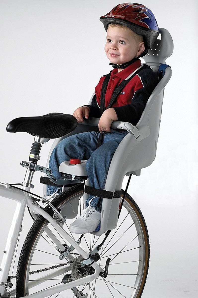 Silla Bicicleta Bebe 3 Utilizando El Adaptador De Sillita