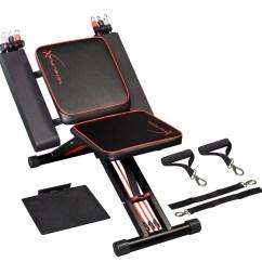 Chair Exercises On Tv Folding Chairs Sale Silla De Ejercicio Thane Abdomen Brazo Pecho Vv4 5 149