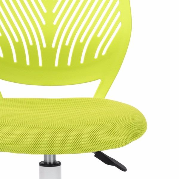 Silla De Escritorio Tipo Carnation Color Verde   25000