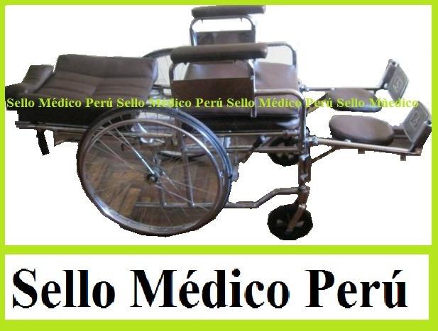 Silla De Ruedas Neurologica 6 En 1 Con Mesa E Inodoro  S