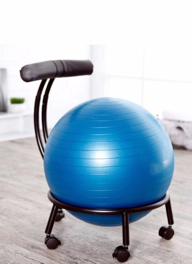 Silla Ergonomica Pelota Yoga Ortopedica Para Oficina