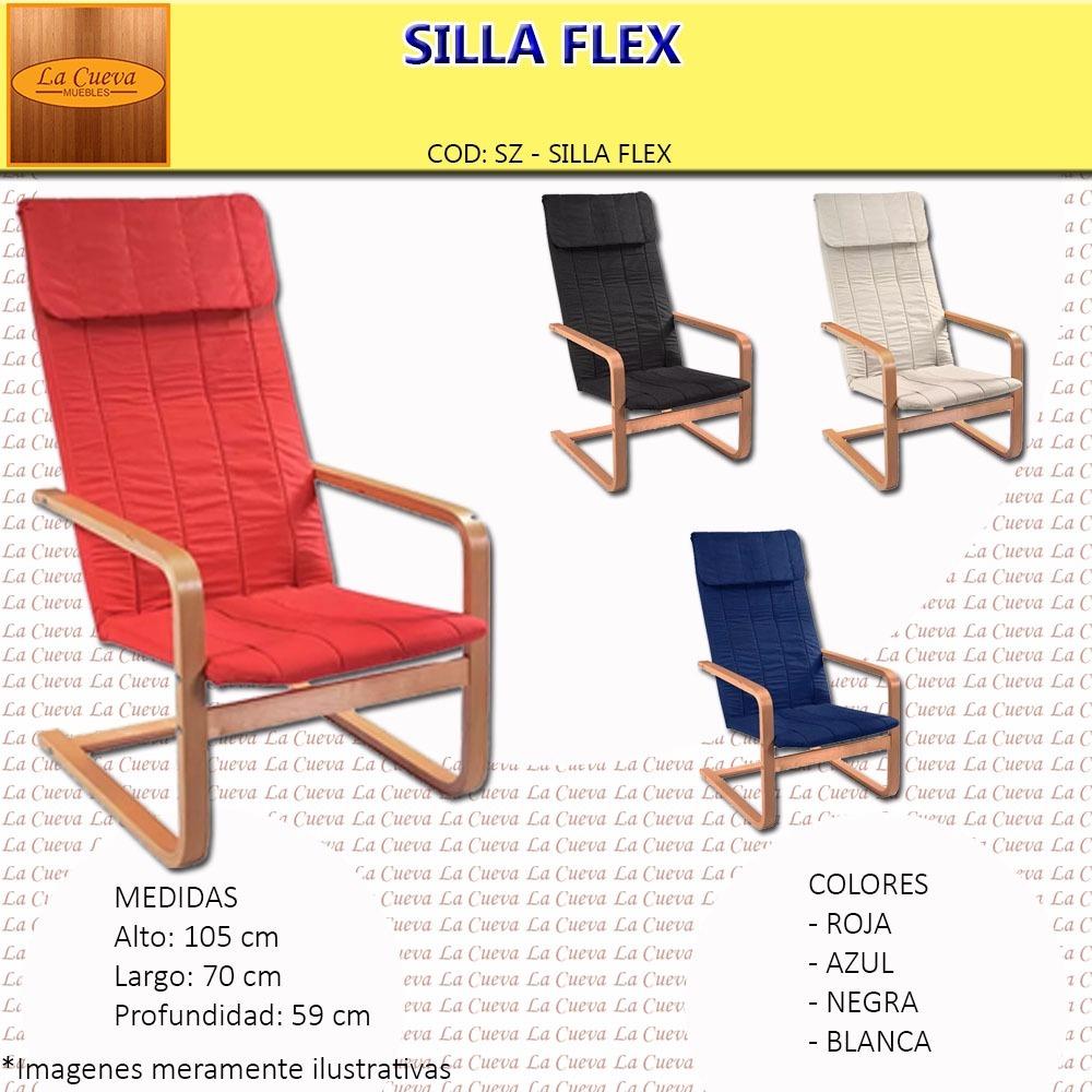 Silla Flex  Sillon  Sofa  Poltrona  Butaca  Living