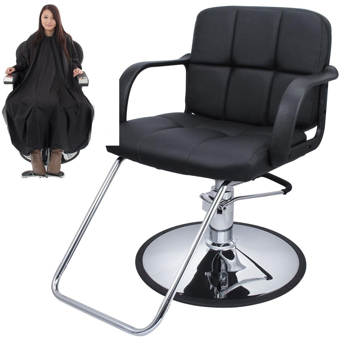 Silla Giratoria Hidraulica Salon Estetica Barberia Cabello   357400 en Mercado Libre