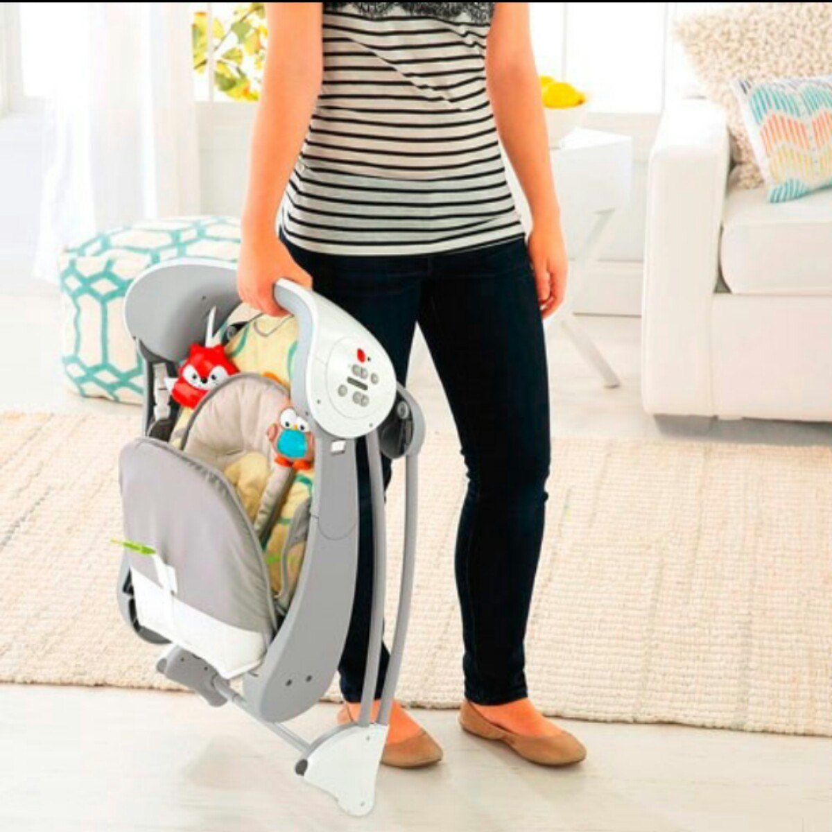 Silla Mecedora Fisher Price   49000 en Mercado Libre