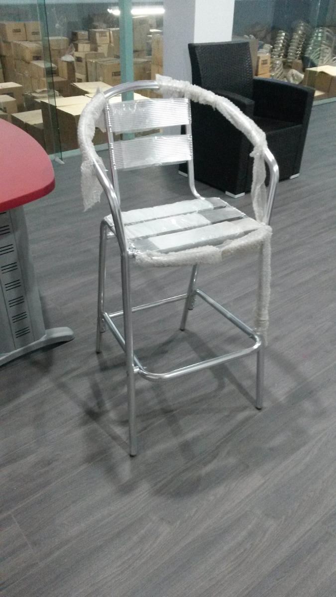 Silla Periquera Aluminio Para Bares O Restaurantes Ya207
