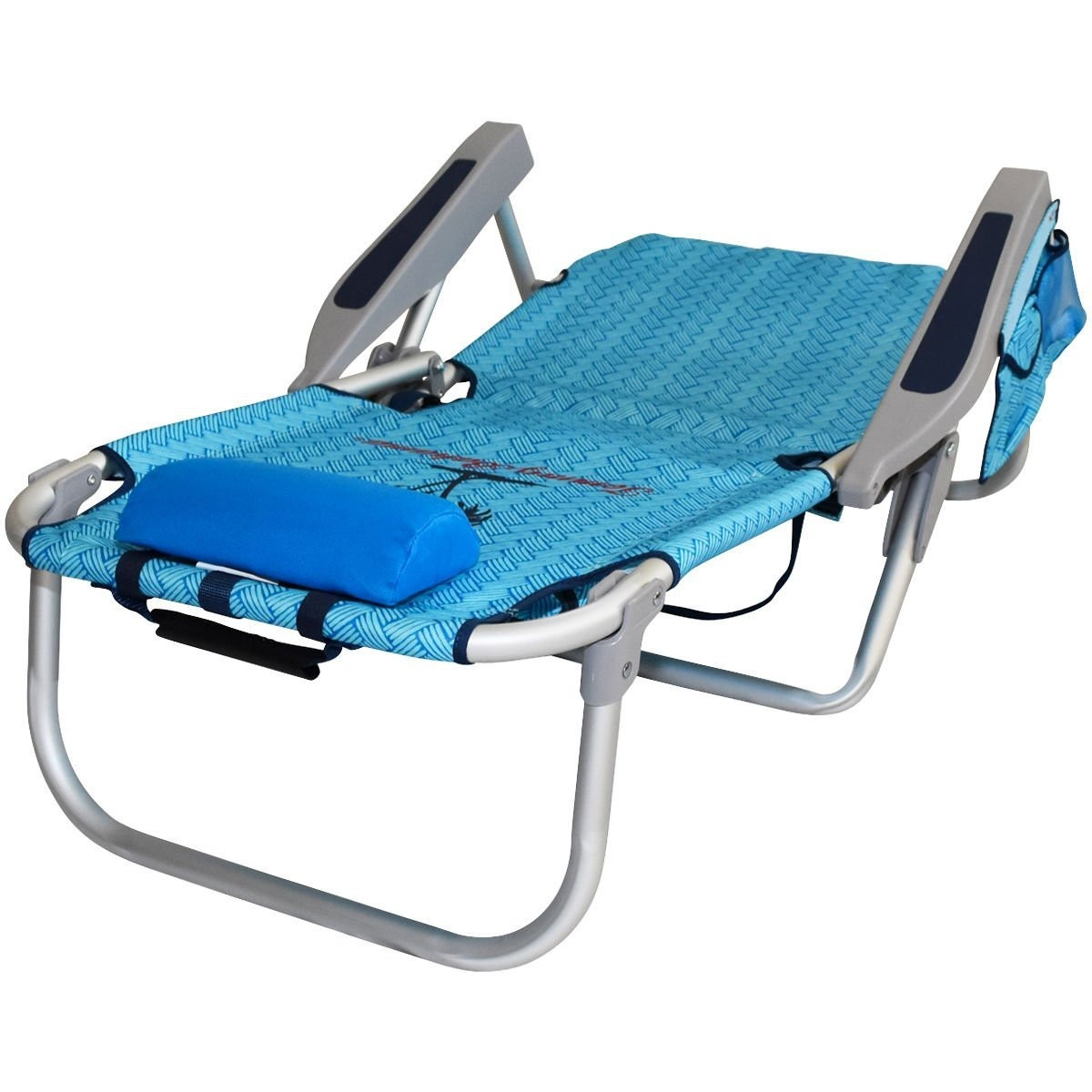 backpack folding chair bouncy chairs for babies mamas and papas silla playa mochila aluminio tommy bahama, camastro - $ 1,090.00 en mercado libre