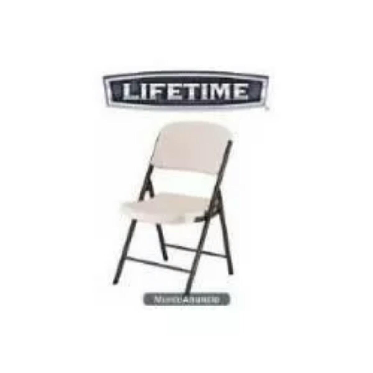 Silla Plegable De Plastico Lifetime   69900 en Mercado