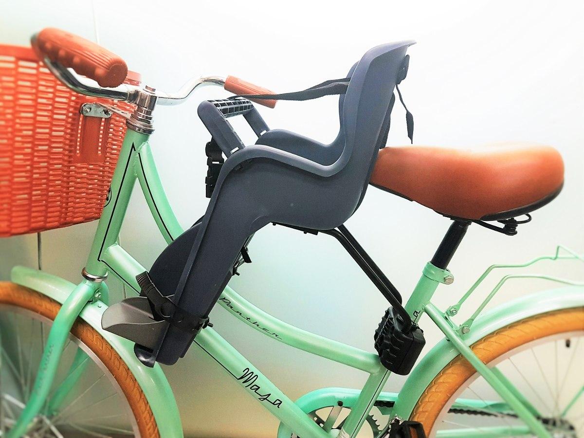 Silla Portabebe Delantera Para Bicicleta 20kg Nios 25