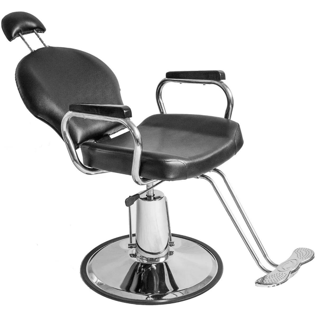 Silla Reclinable Barberia Hidraulica Barbero Estetica