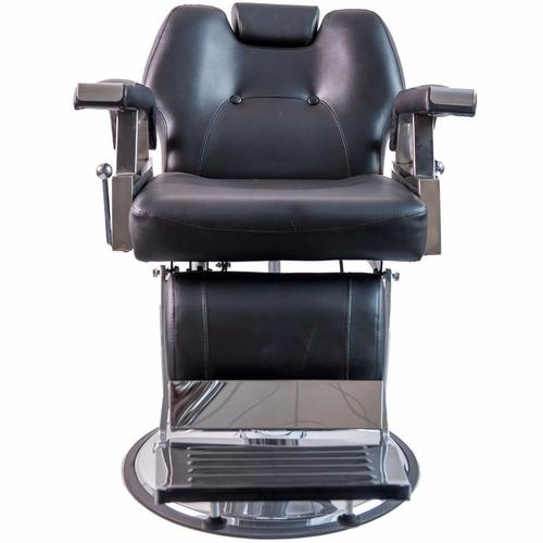 Silla Reclinable Estetica Sillon Hidraulica Salon Barberia