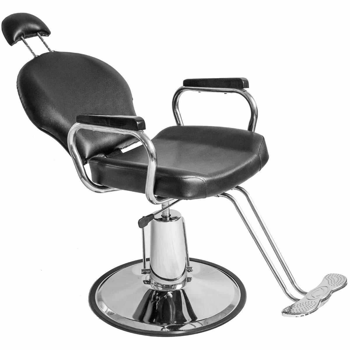 Silla Sillon Reclinable Barberia Salon Estetica Peluqueria   428900 en Mercado Libre